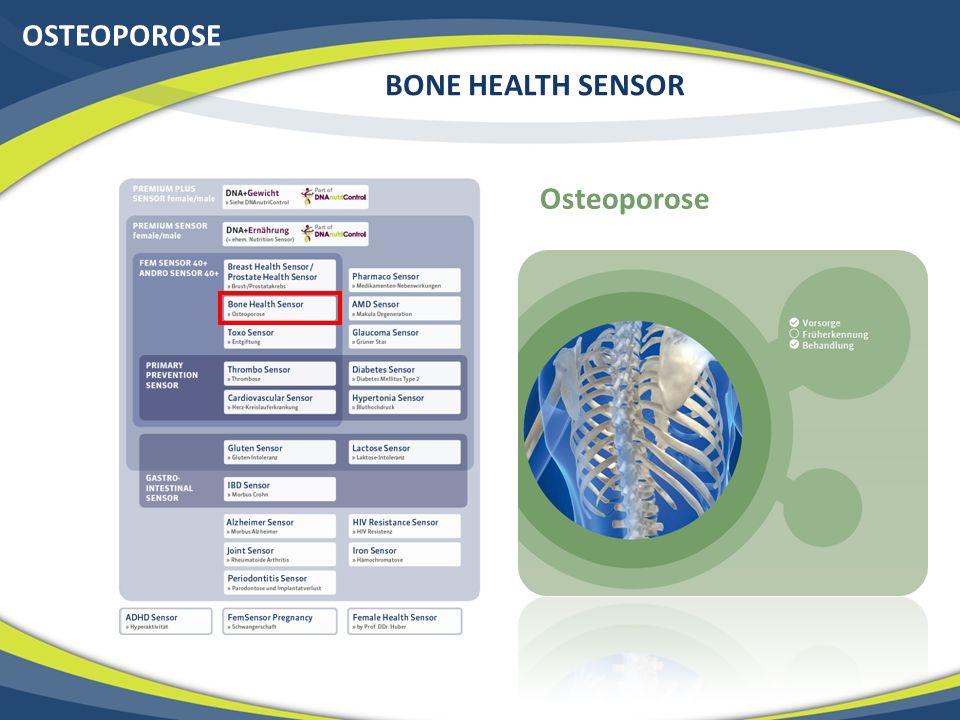 OSTEOPOROSE BONE HEALTH SENSOR Osteoporose