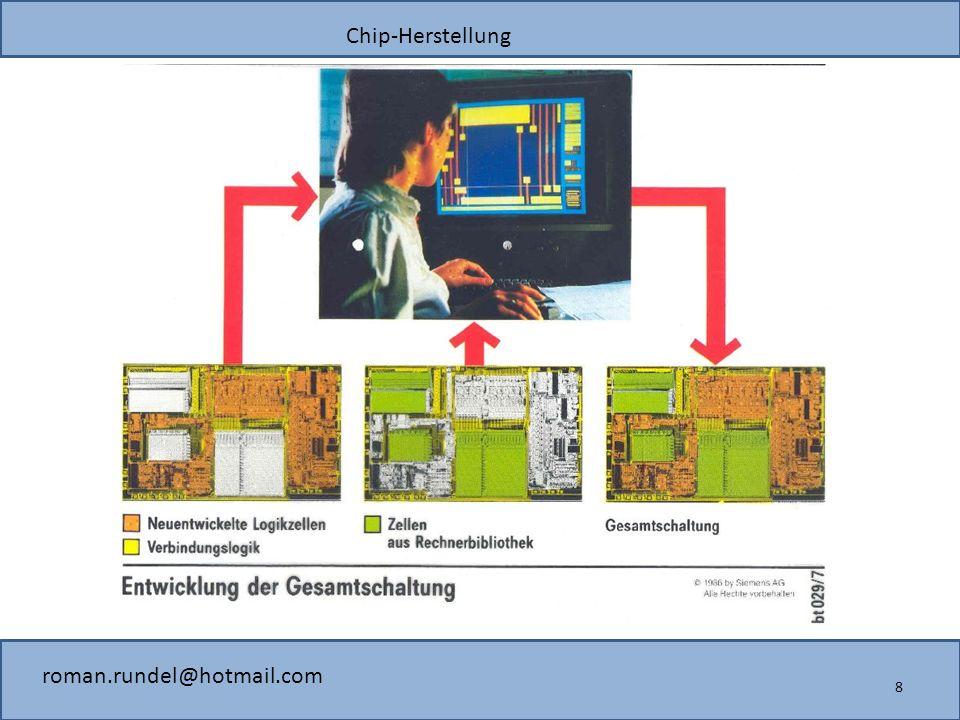 Chip-Herstellung roman.rundel@hotmail.com 8