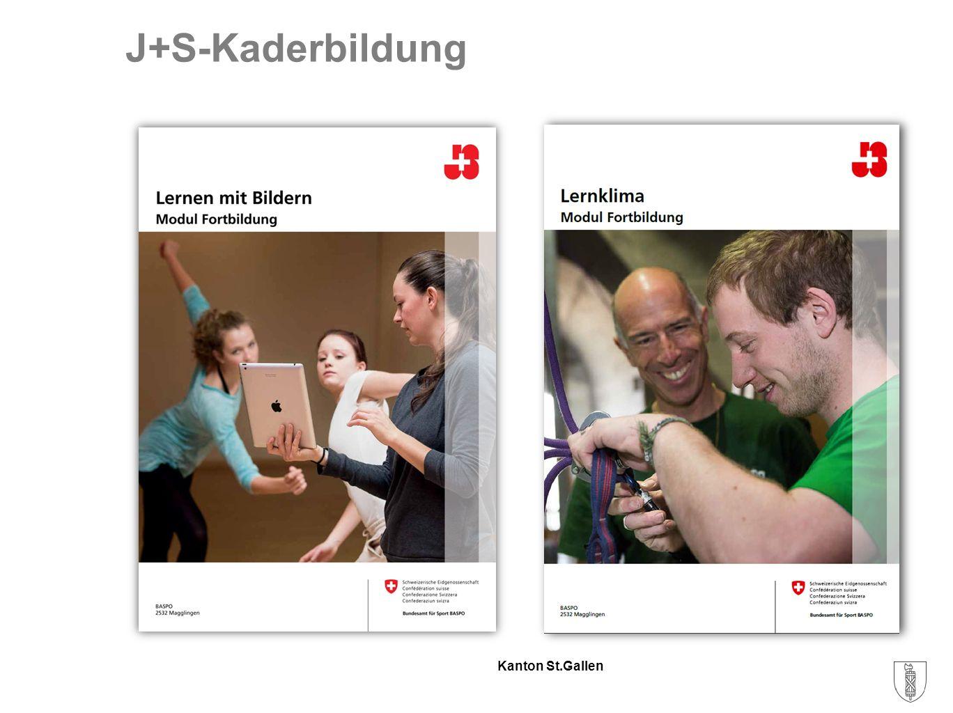 Kanton St.Gallen Fazit Schweizerinnen und Schweizer treiben mehr Sport.