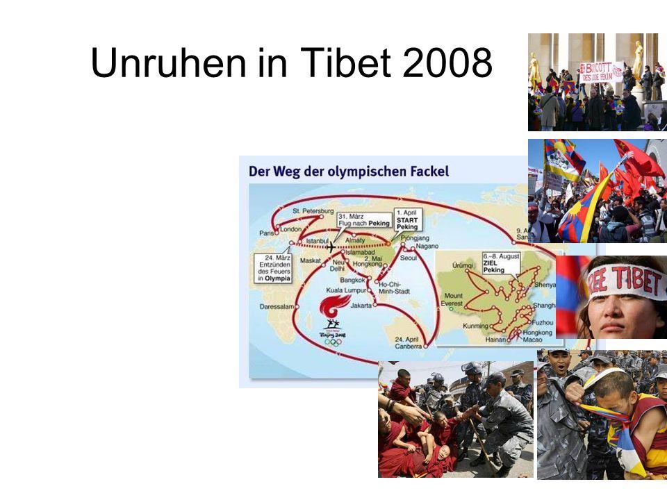Unruhen in Tibet 2008