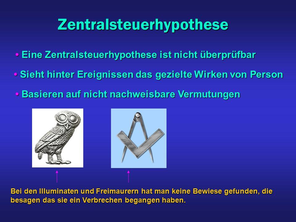 Verschwörungsideologien Man kann eventuell einen Täter finden Man kann eventuell einen Täter finden Beim Reichstagsbrand im 2.