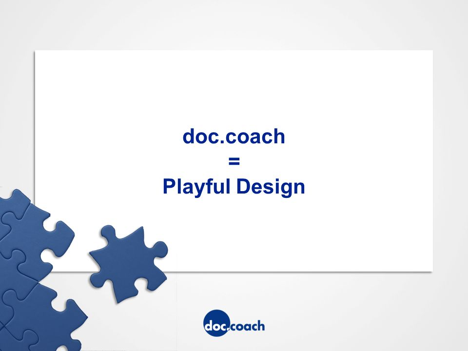 doc.coach = Playful Design