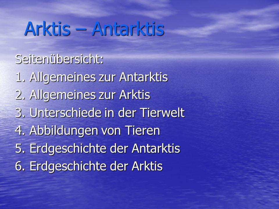 Arktis – Antarktis Arktis – Antarktis Seitenübersicht: 1.