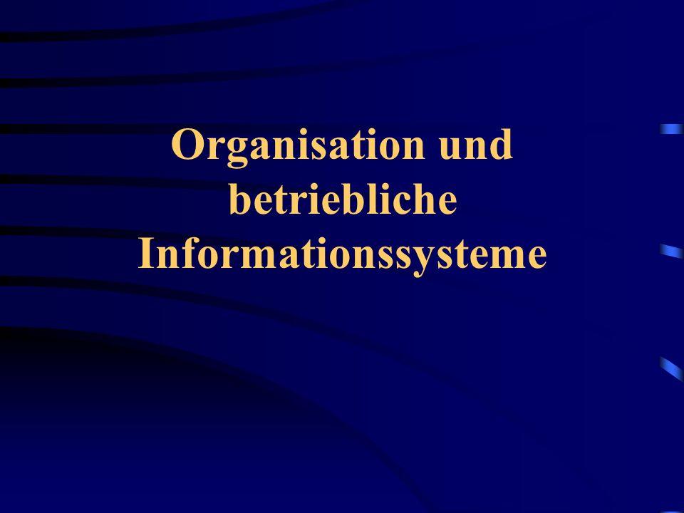 Bedeutung eines Informationssystems Ständig neue Aufgaben durch externe und interne Informationsänderung  hohe Flexibilität muss vorhanden sein Folgen eines schlechten Informationssystems sind: Fehlplanung (falsche Informationen) Versäumnis von Reaktionen Kostenexplosion in der Verwaltung