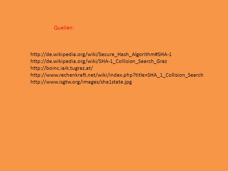 title=SHA_1_Collision_Search   Quellen: