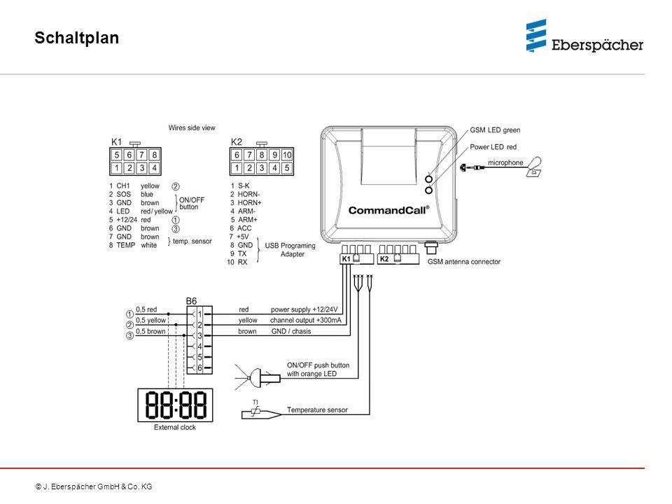 © J. Eberspächer GmbH & Co. KG Schaltplan