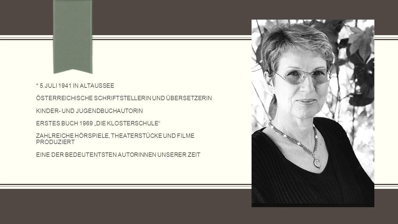 Übersetzungen ihrer Bücher in den 1960er/70er Jahren Pensionaat.