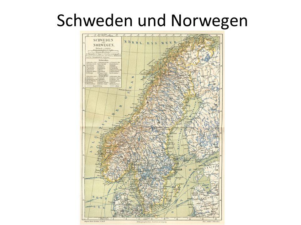 Topografie und Geodäsie Die skandinavische Halbinsel war während der letzten Eiszeit von Eis bedeckt.