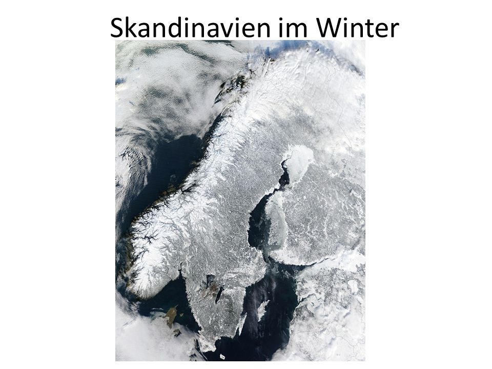 Skandinavien im Winter