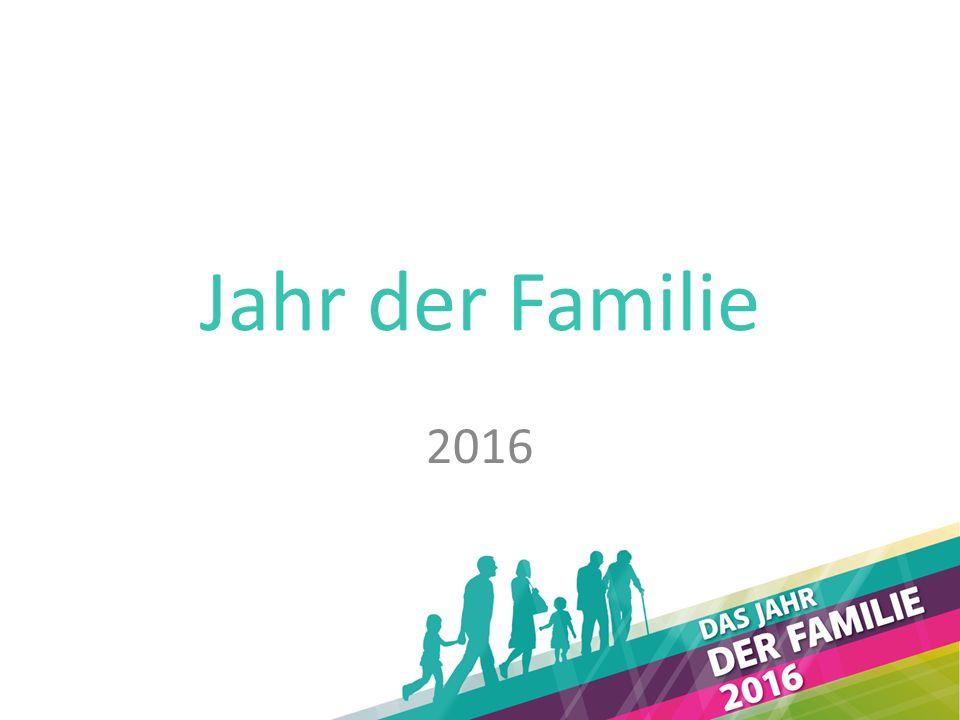 Jahr der Familie 2016