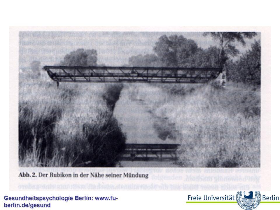Gesundheitspsychologie Berlin: www.fu- berlin.de/gesund Theorien des Gesundheitsverhaltens: Kernfragen Was motiviert Menschen dazu, sich gesund oder riskant zu verhalten.