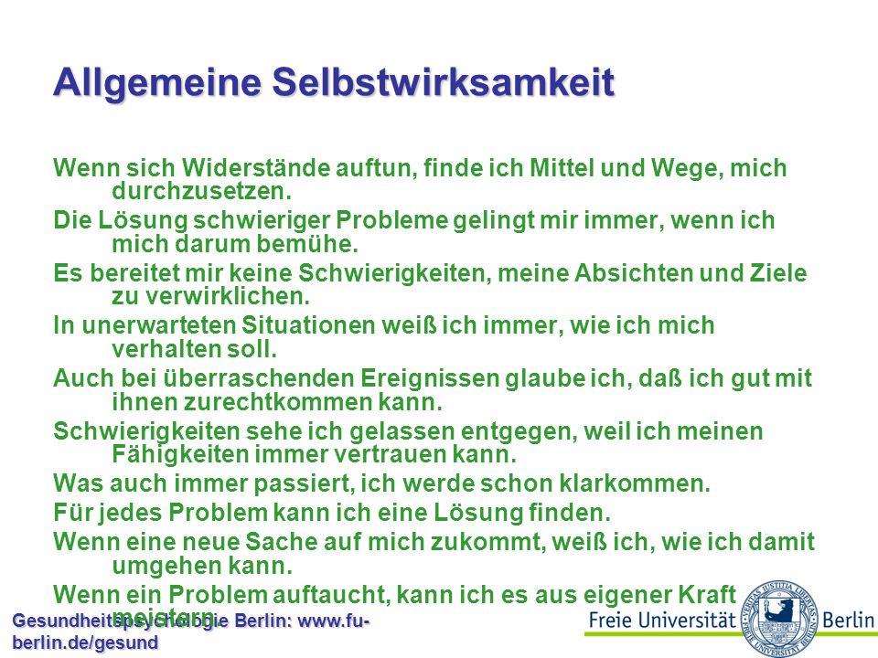 Allgemeine vs.