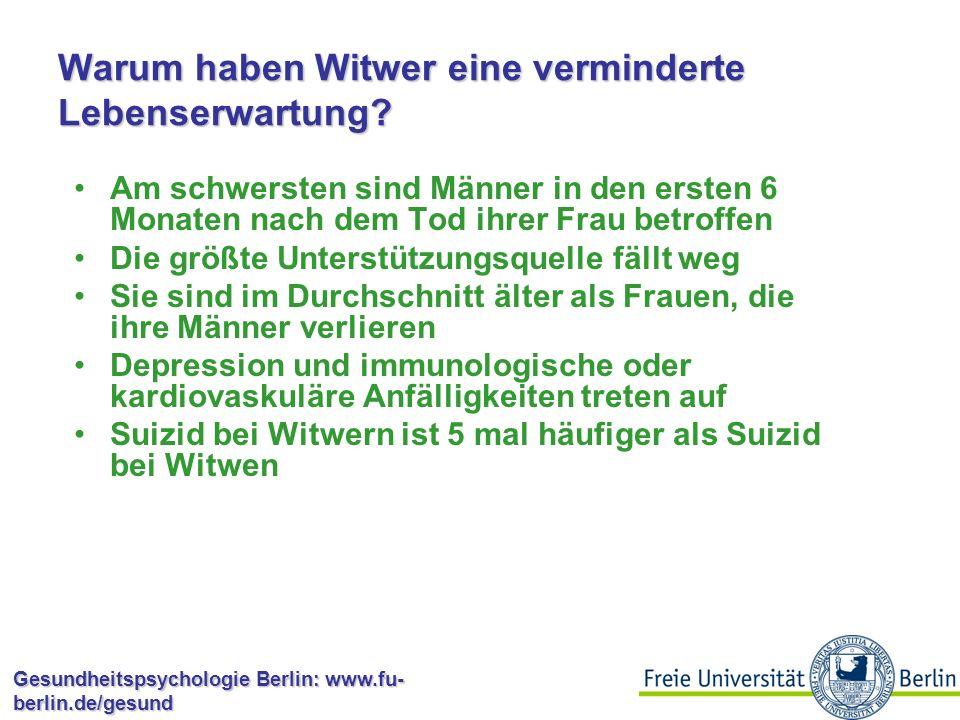 Gesundheitspsychologie Berlin: www.fu- berlin.de/gesund Wie funktioniert das biologisch.