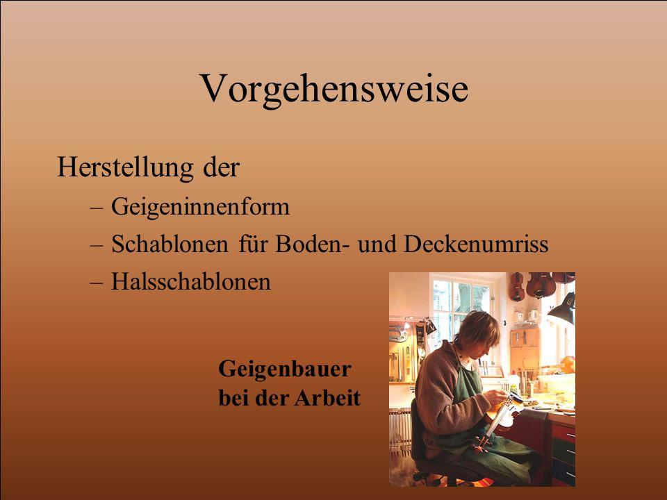 Herstellung Geigenkorpus M o d e l l f r a g e (Kopieren?, Komplett neu?) Stradivari, Amati und Guarneri Antonio Stradivari
