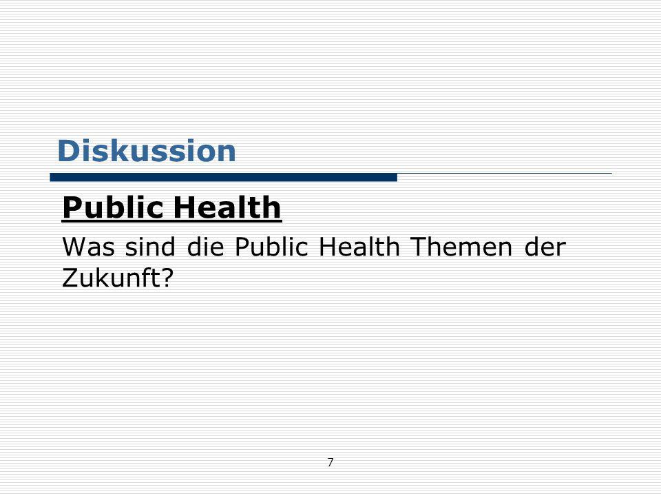 48 Infektionskrankheiten in Österreich Fälle - Top 5 1970 vs.
