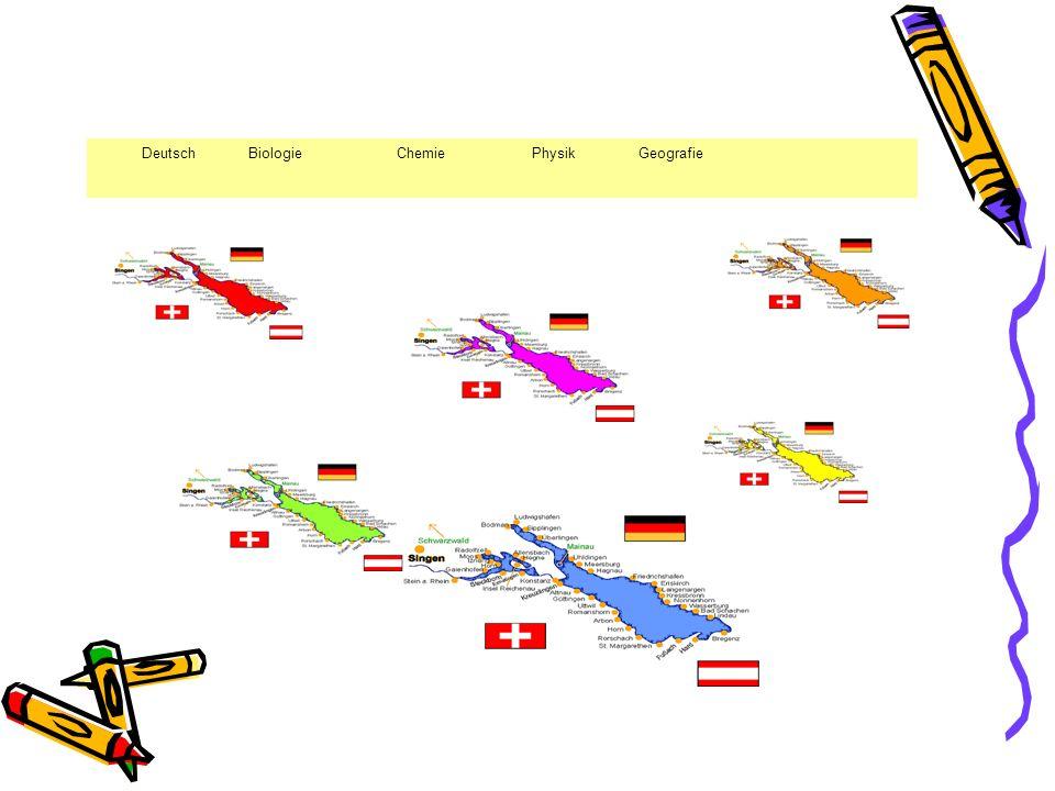 Deutsch Biologie Chemie Physik Geografie