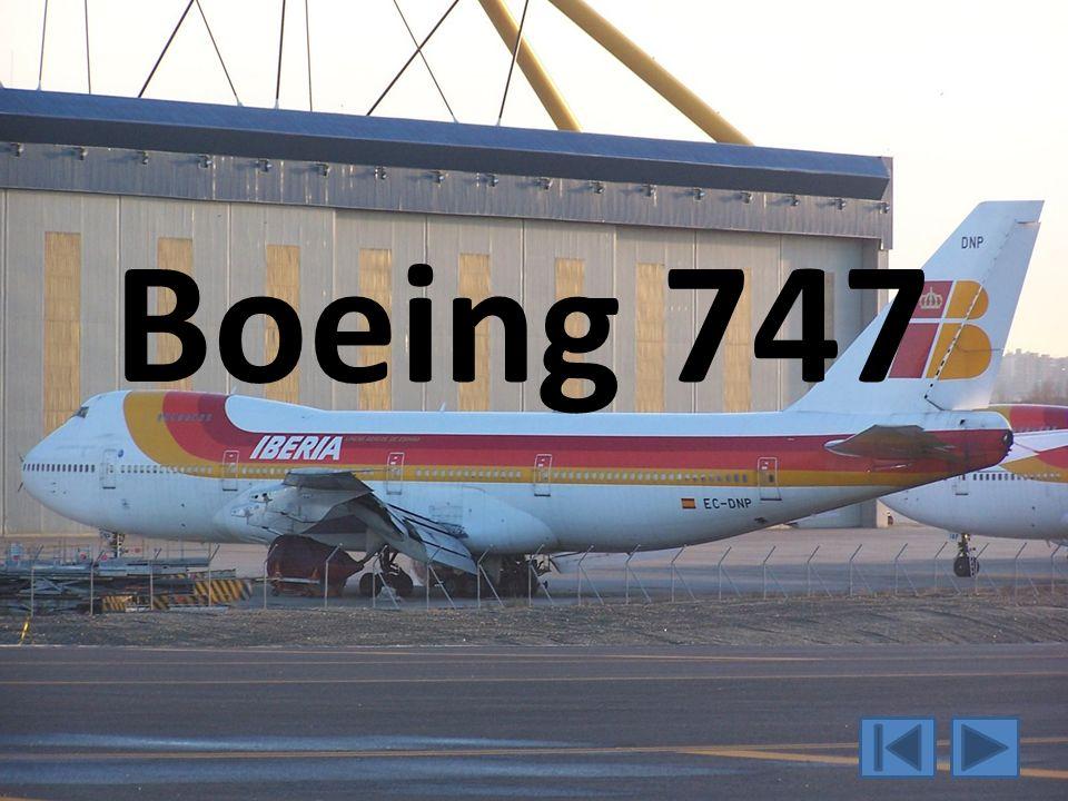 Daten zur Boing 747 Ist ein vierstrahliges Großraumflugzeug Entwurfsland: USA Erstflug: 9.