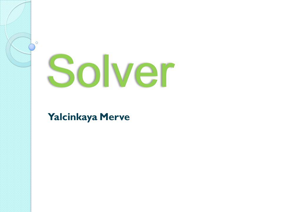 Solver Yalcinkaya Merve