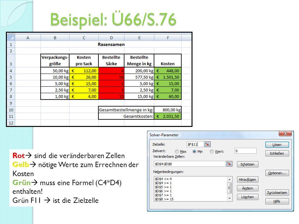 Beispiel: Ü66/S.76
