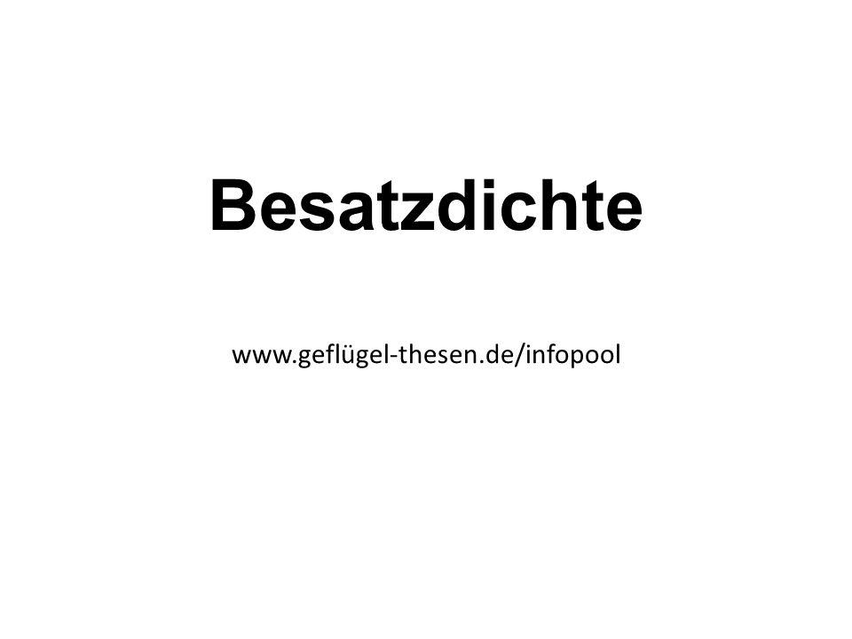 Besatzdichte www.geflügel-thesen.de/infopool