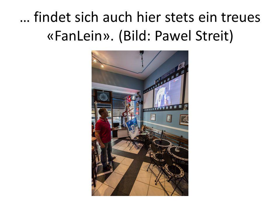 … findet sich auch hier stets ein treues «FanLein». (Bild: Pawel Streit)