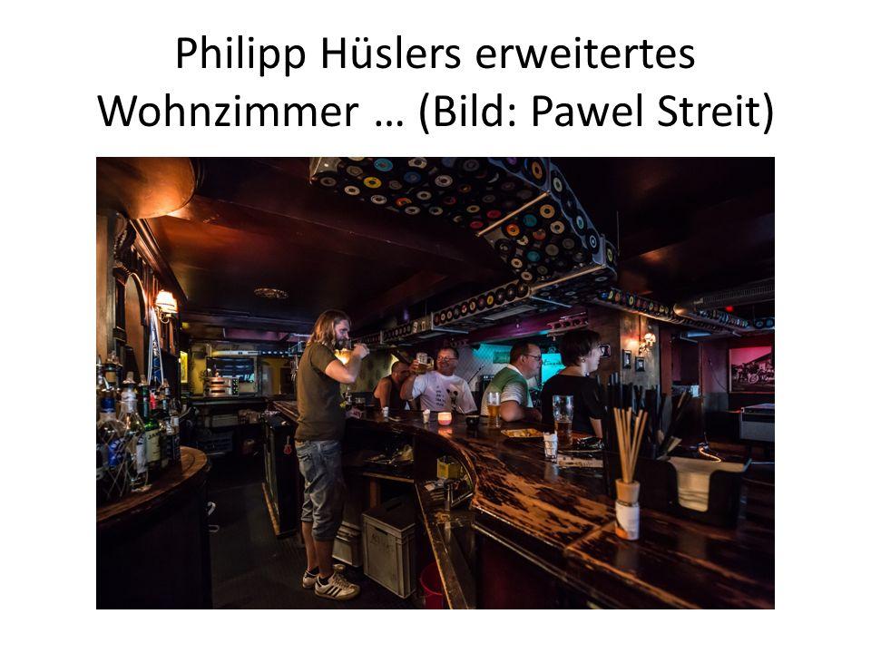 Philipp Hüslers erweitertes Wohnzimmer … (Bild: Pawel Streit)