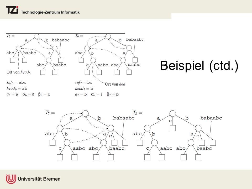 Beispiel (ctd.)