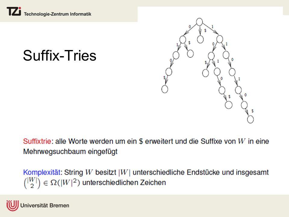 Suffix-Tries