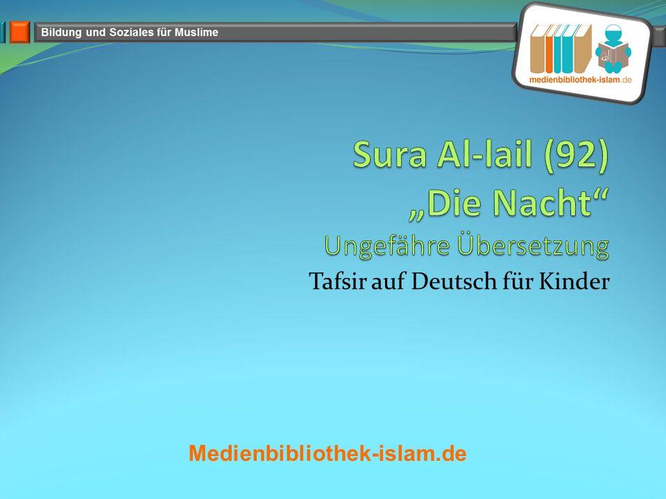Tafsir auf Deutsch für Kinder Medienbibliothek-islam.de