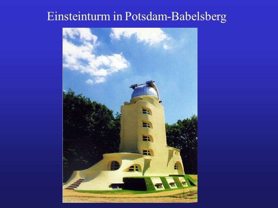 Einsteinturm in Potsdam-Babelsberg