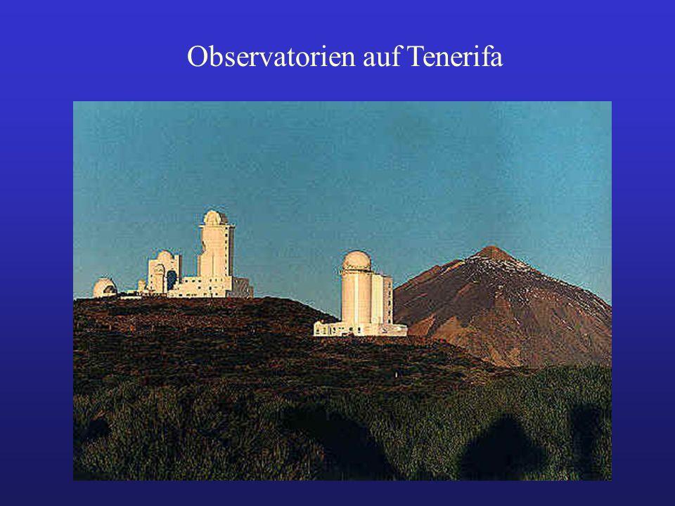 Observatorien auf Tenerifa