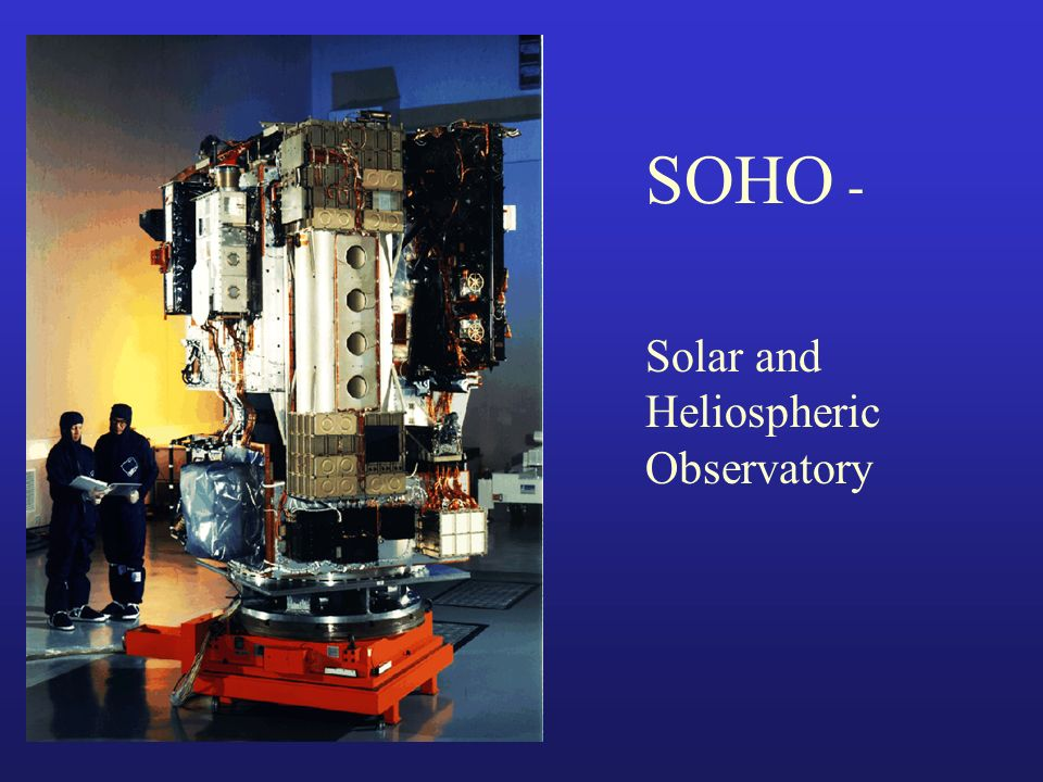 SOHO - Solar and Heliospheric Observatory