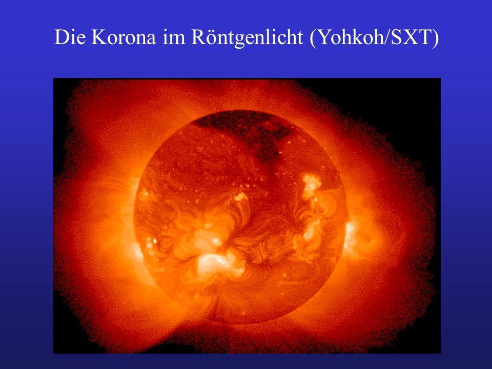 Die Korona im Röntgenlicht (Yohkoh/SXT)