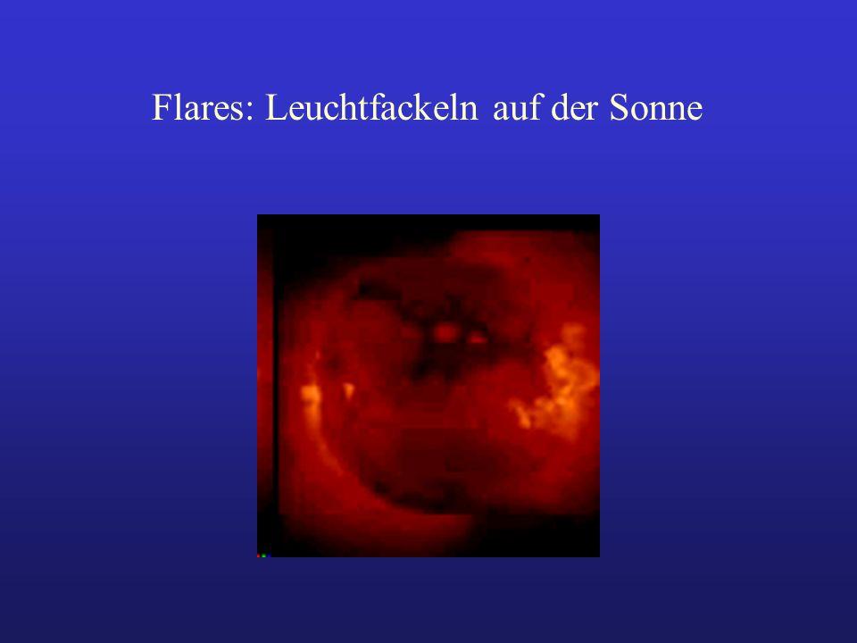 Flares: Leuchtfackeln auf der Sonne