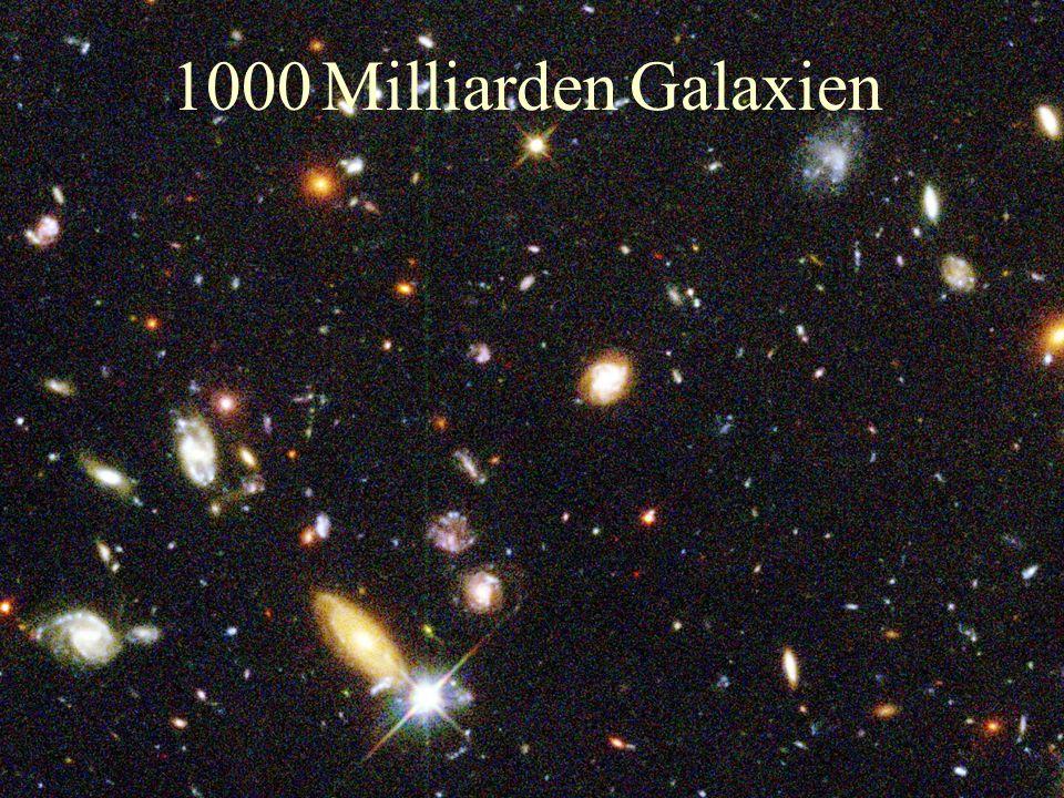 1000 Milliarden Galaxien