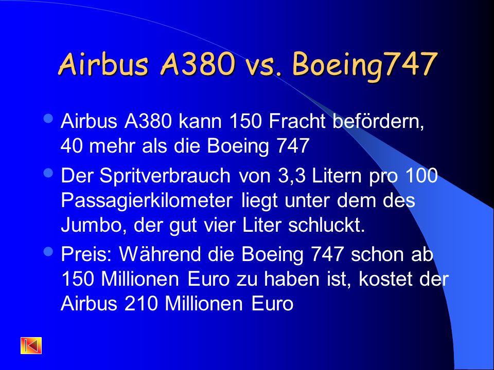 Boeing 474 Vorgänger des Airbus A360 Länge: 70.60m Spannweite: 64.40m Max.