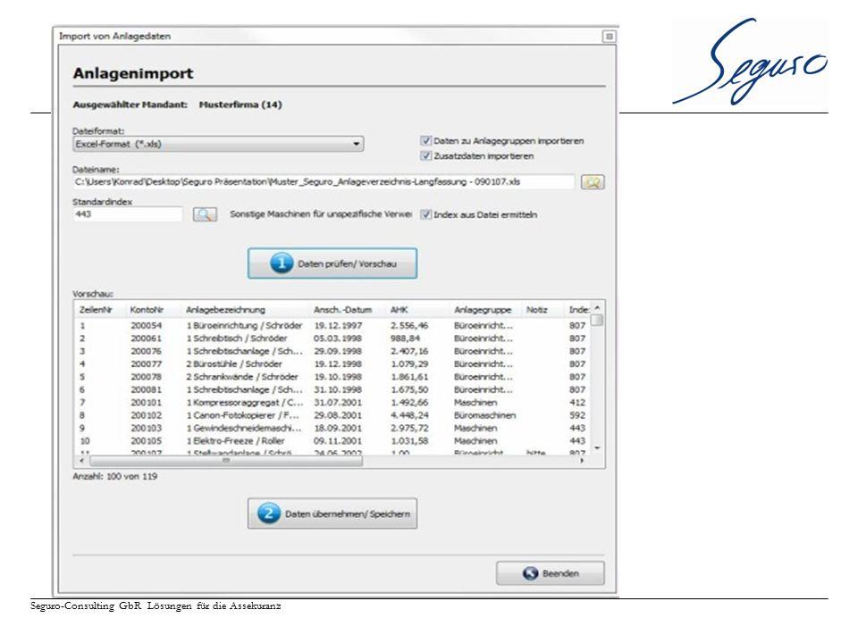 Seguro-Consulting GbR Lösungen für die Assekuranz