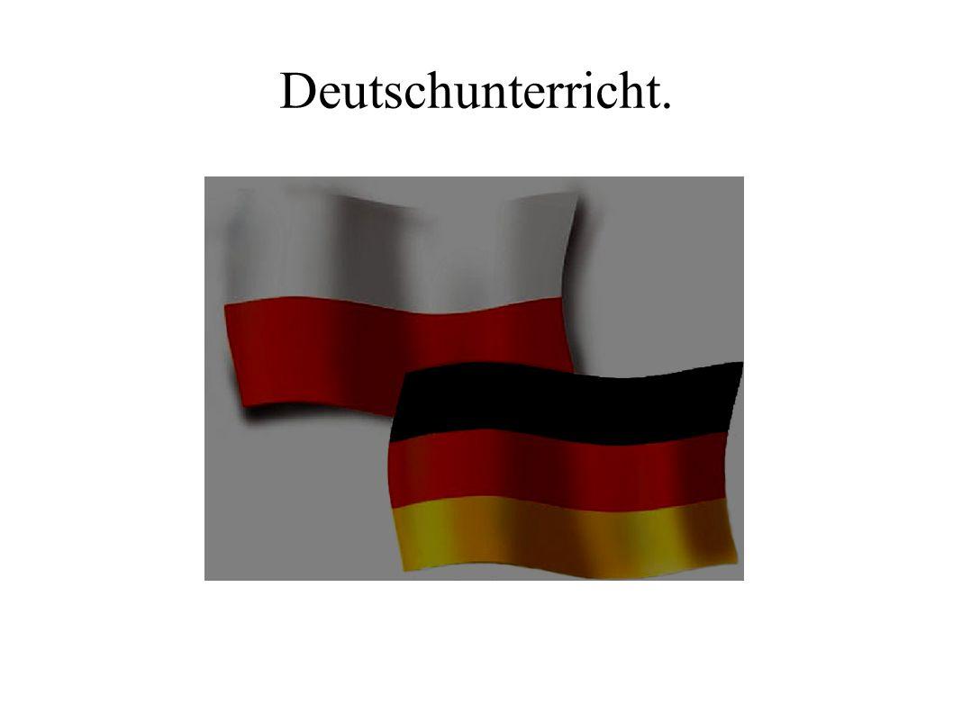 Deutschunterricht.