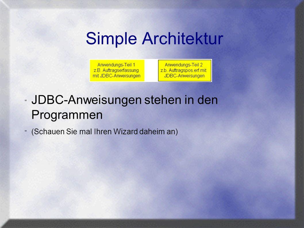 Simple Architektur