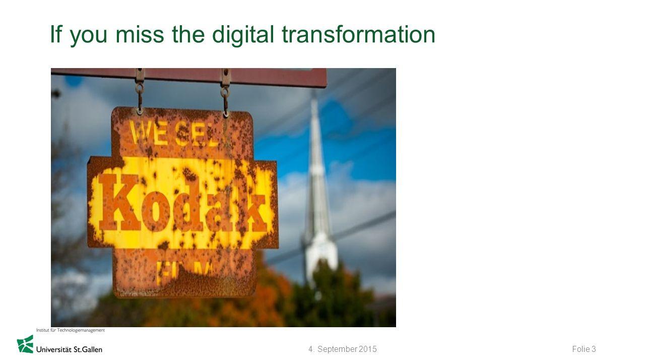 © Zühlke 2015 Technologieunternehmen im Wandel Die Technologie ist verfügbar, der Engpass ist die Wertgenerierung beim Kunden, das richtige Geschäftsmodell.