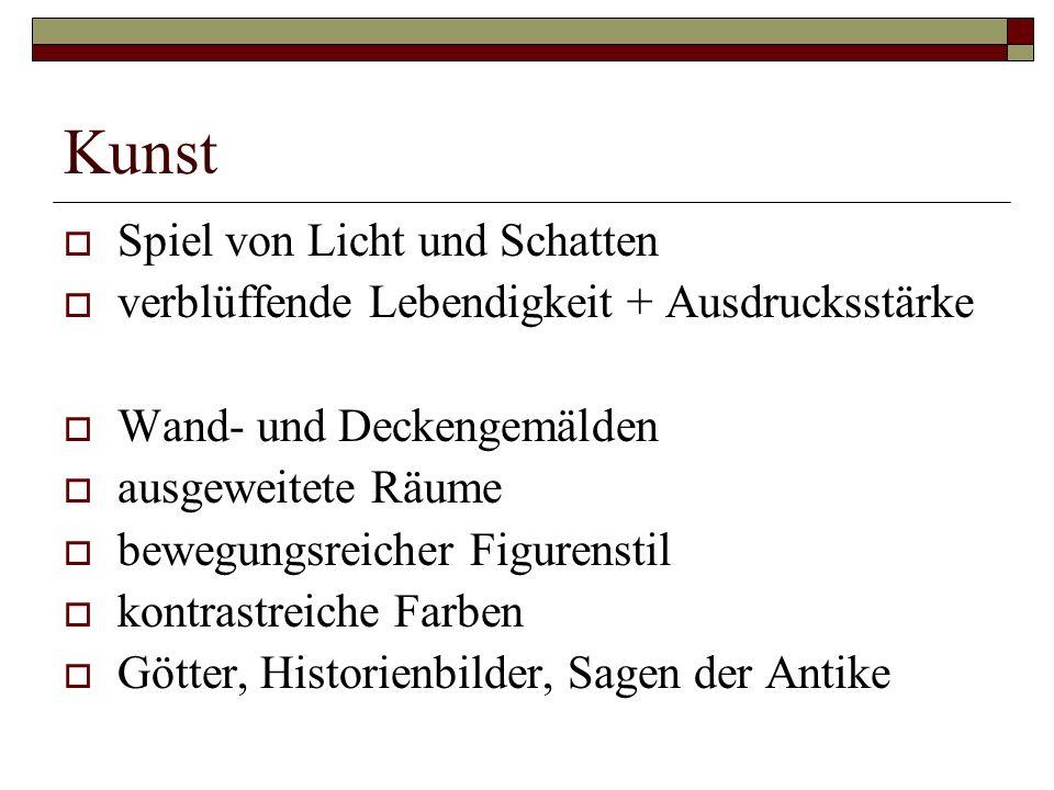 Dichtung  Literatur des 17.