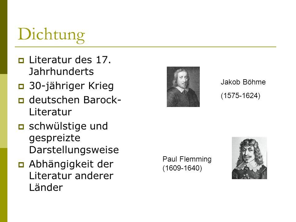 Musik  zwischen Renaissance und Wiener Klassik  Frühbarock: italienisch  Hochbarock: französisch  Frankreich: Tanzmusik  Deutschland: Orgelmusik  Spätbarock: Musikstile näherten sich Johann Sebastian Bach (1685-1750) Georg Friedrich Händel (1685-1759) Antonio Vivaldi (1678-1741)