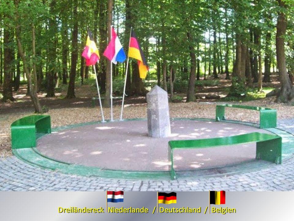 Dreiländereck Niederlande / Deutschland / Belgien