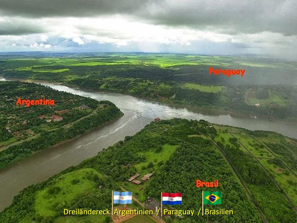 Dreiländereck Argentinien / Paraguay / Brasilien