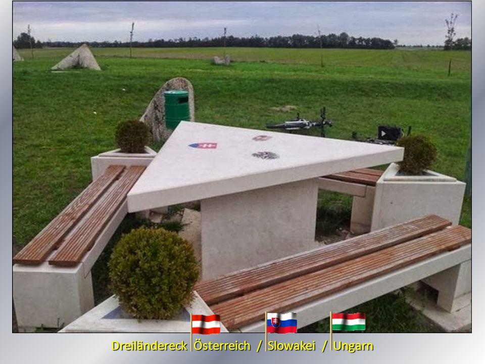 Dreiländereck Österreich / Slowakei / Ungarn