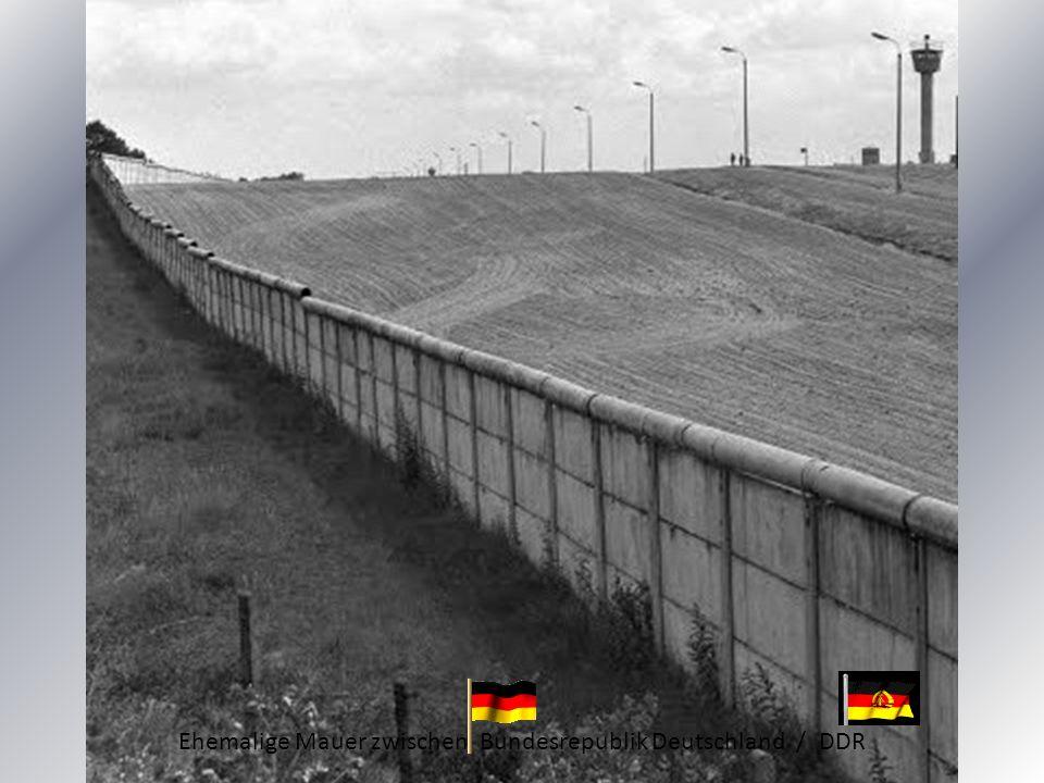 Ehemalige Mauer zwischen Bundesrepublik Deutschland / DDR