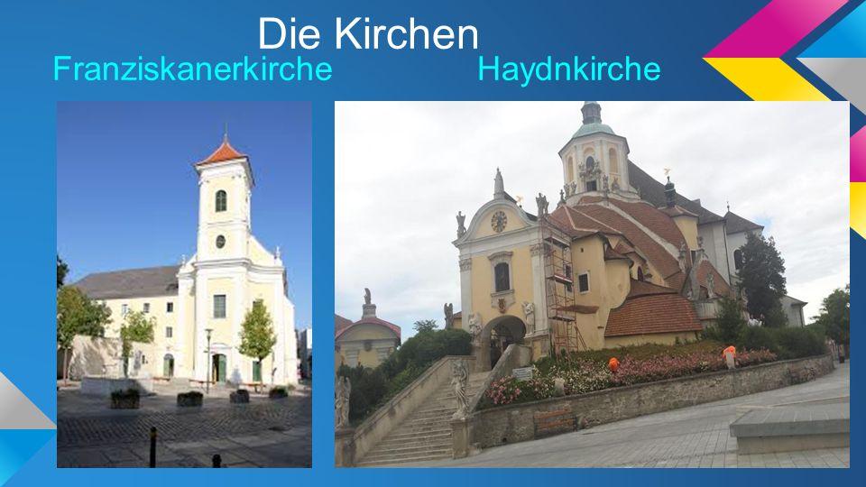 Die Kirchen Franziskanerkirche Haydnkirche
