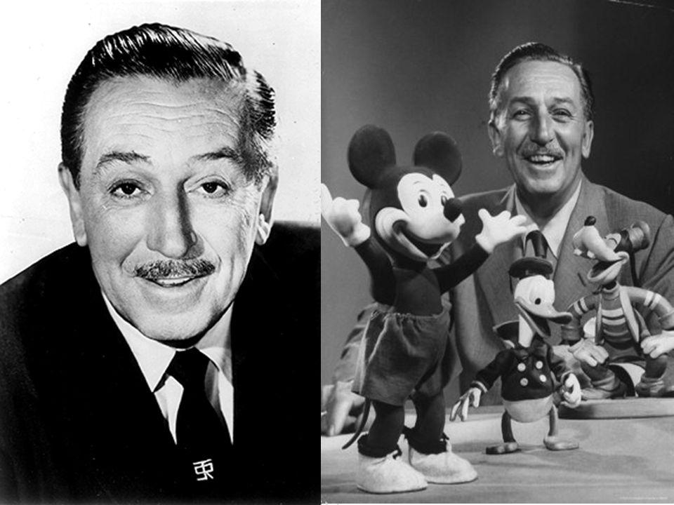 """Walter Elias Disney """"Märchenonkel der Nation"""" Gründer von Walt Disney Productions Wurde am 5. Dezember 1901 in Chicago geboren Starb am 15. Dezember 1"""