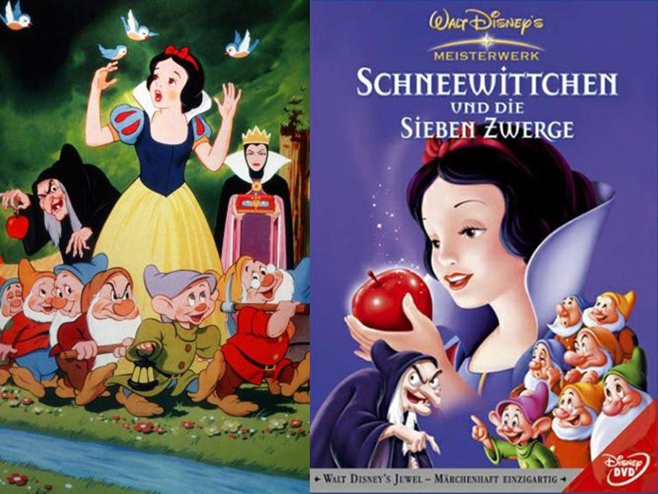 Schneewitchen und die 7 Zwerge Ein Großwerk gelang Disney 1937 mit der Zeichentrick-Verfilmung von Schneewittchen und die sieben Zwerge Dafür bekamen