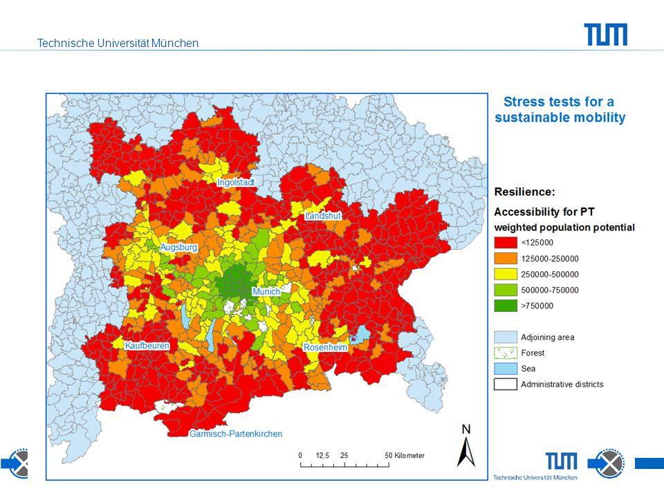 Technische Universität München Resilience: Accessibility for public transport